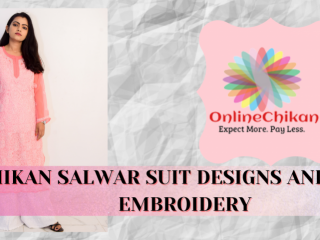 Chikan Suit Latest Design :: Lucknowi Chikankari :: Chikankari Saree